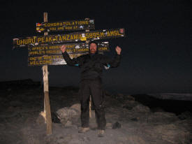 Ken on Kilimanjaro